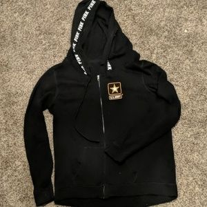 Victoria's Secret Pink U.S. Army Full zip hoodie